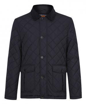Стеганая куртка на синтепоне с отложным воротником Jorg weber