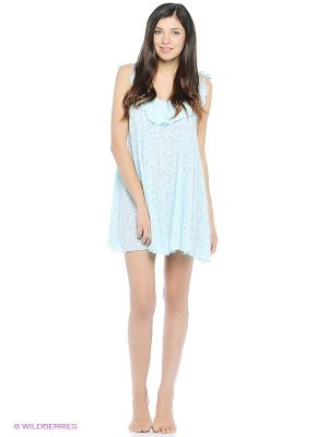 Ночная сорочка Balancelle. Цвет: голубой