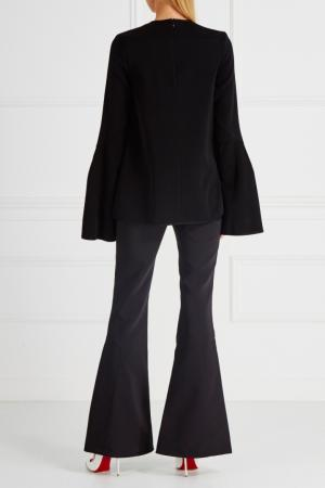 Однотонные брюки-клеш Activist Ellery. Цвет: черный