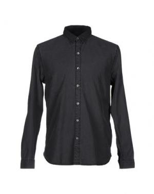 Джинсовая рубашка CLOSED. Цвет: свинцово-серый