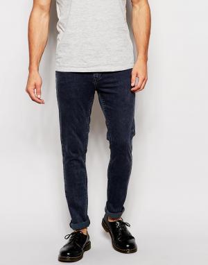 Zee Gee Why Супероблегающие джинсы с эффектом кислотной стирки