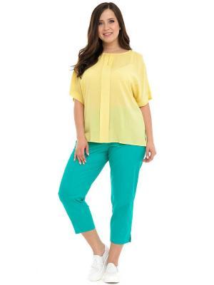 Блузка SVESTA. Цвет: желтый