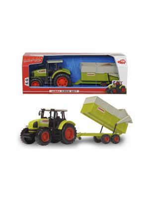Трактор с прицепом, 57 см. Dickie. Цвет: зеленый