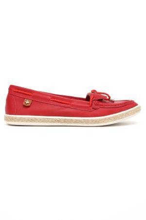Мокасины Cravo & Canela. Цвет: красный