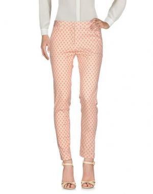 Повседневные брюки PERFECTION. Цвет: бежевый
