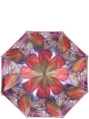Зонт Eleganzza. Цвет: коричневый, малиновый, фиолетовый