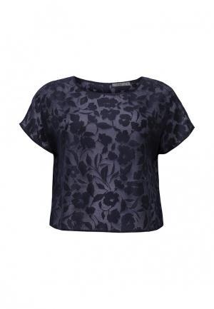 Блуза UNQ. Цвет: синий