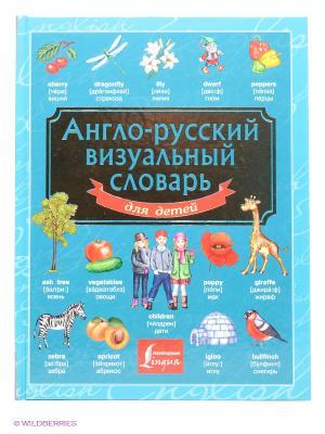 Англо-русский визуальный словарь для детей Издательство АСТ. Цвет: голубой