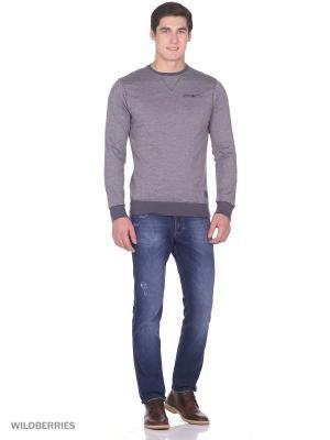 Пуловер Boston Brothers. Цвет: серый