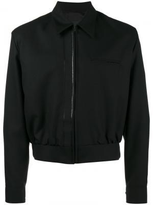 Куртка с резиновой деталью Loro Piana Mackintosh 0001. Цвет: чёрный