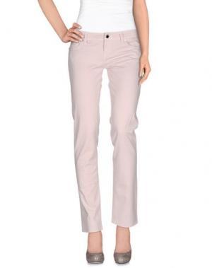 Повседневные брюки JFOUR. Цвет: светло-розовый