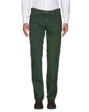 Повседневные брюки JECKERSON. Цвет: зеленый