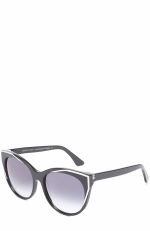 Солнцезащитные очки Thierry Lasry. Цвет: черный