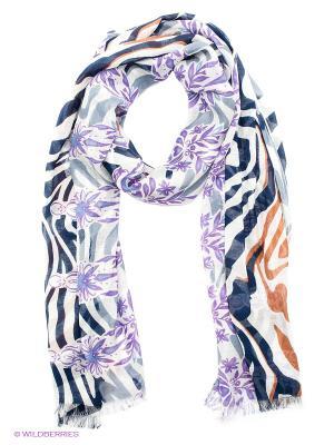 Платок Venera. Цвет: темно-синий, коричневый, фиолетовый