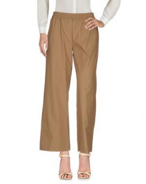 Повседневные брюки N_8. Цвет: верблюжий