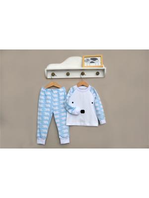Пижама Baby Boom. Цвет: голубой