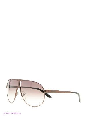 Солнцезащитные очки CARRERA. Цвет: коричневый, бежевый