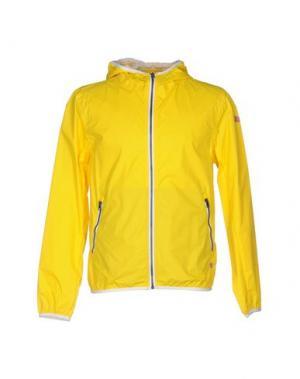 Куртка 40WEFT. Цвет: желтый