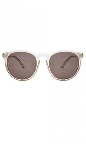 Солнцезащитные очки beaumont Wonderland. Цвет: белый