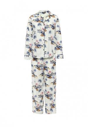 Пижама Topshop. Цвет: голубой