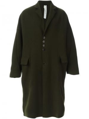 Пальто Copernico Damir Doma. Цвет: зелёный
