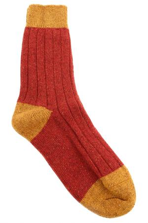 Носки HOWLIN BY MORRISON HOWLIN'. Цвет: красный, желтый