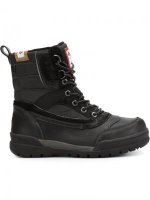 Ботинки на шнуровке Bane Pajar. Цвет: чёрный