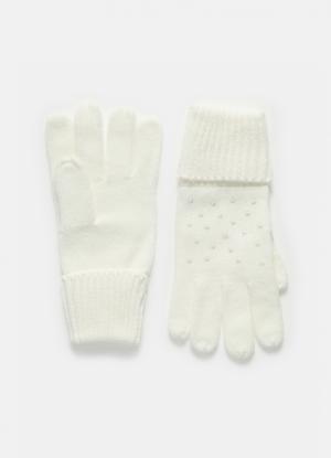 Перчатки с пайетками OSTIN
