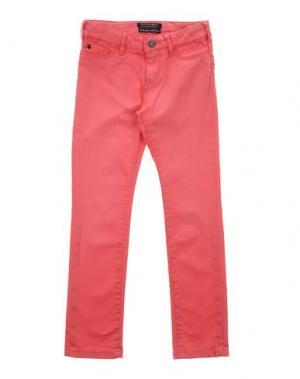 Повседневные брюки SCOTCH R'BELLE. Цвет: коралловый