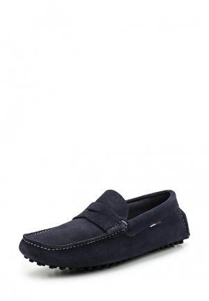 Мокасины Tommy Jeans. Цвет: синий
