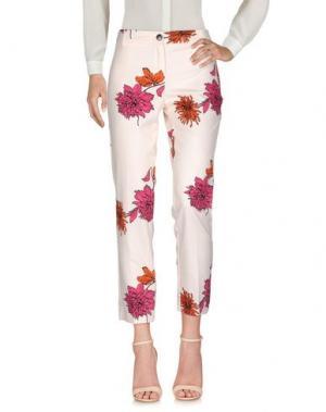 Повседневные брюки EMME by MARELLA. Цвет: светло-розовый