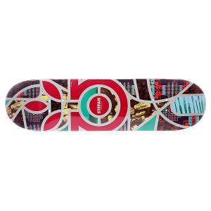 Дека для скейтборда  S5 Janoski Melange 32.25 x 8.25 (21 см) Habitat. Цвет: мультиколор