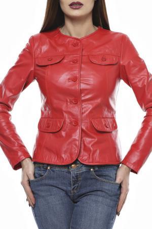 Куртка L.Y.N.N by Carla Ferreri. Цвет: красный