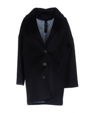 Пальто GUTTHA. Цвет: темно-синий