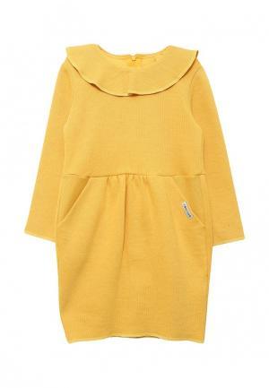 Платье COOCKOO. Цвет: желтый