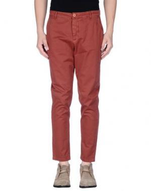 Повседневные брюки DERRIÉRE. Цвет: какао