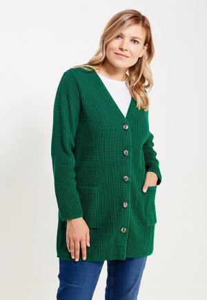 Кардиган Milana Style. Цвет: зеленый