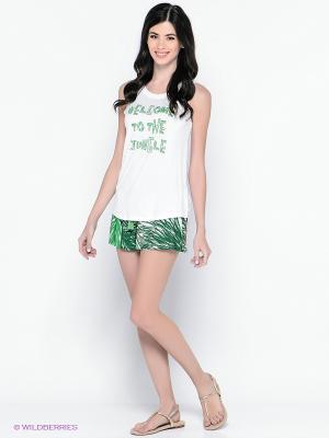 Комплект одежды PENYE MOOD. Цвет: белый, зеленый