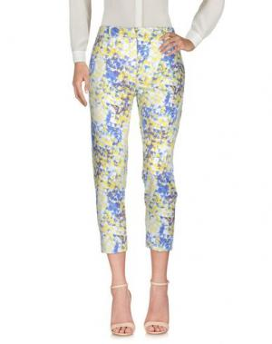 Повседневные брюки VIRIATO. Цвет: желтый