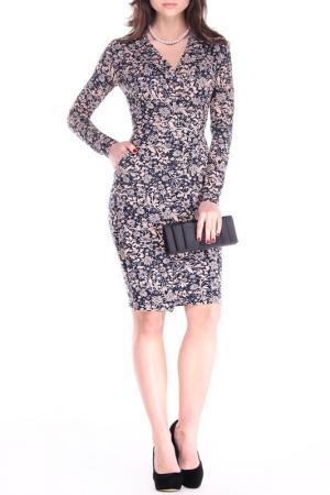 Платье REBECCA TATTI. Цвет: принт