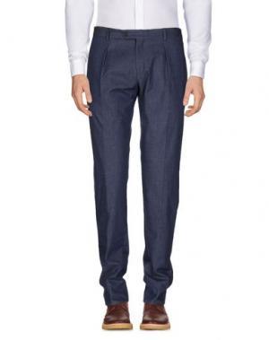 Повседневные брюки REVERES 1949. Цвет: грифельно-синий