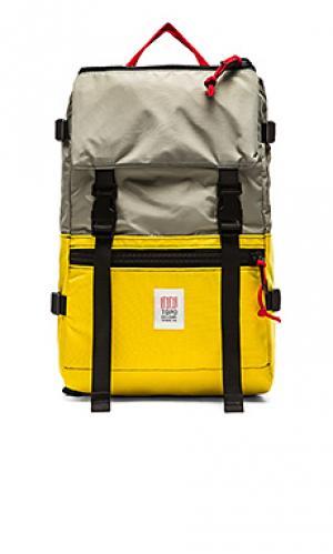 Рюкзак rover TOPO DESIGNS. Цвет: желтый