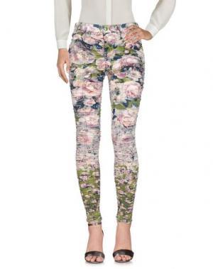 Повседневные брюки JEAN PAUL GAULTIER FEMME. Цвет: зеленый-милитари