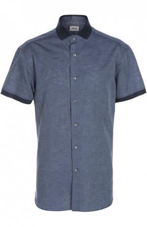 Рубашка Brioni. Цвет: синий
