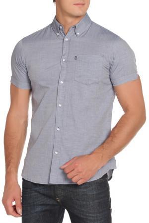 Рубашка LE SHARK. Цвет: midnight blue