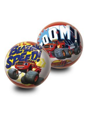 Мяч Вспыш и чудо-машинки 23 см Unice. Цвет: белый, красный, синий