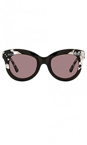 Солнцезащитные очки julia KREWE du optic. Цвет: черный