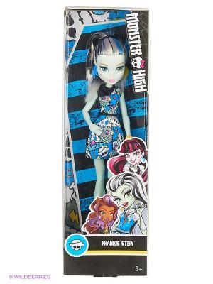 Кукла Фрэнки Штейн Monster High. Цвет: синий, желтый