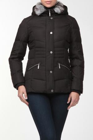 Куртка Marks & Spencer. Цвет: черный