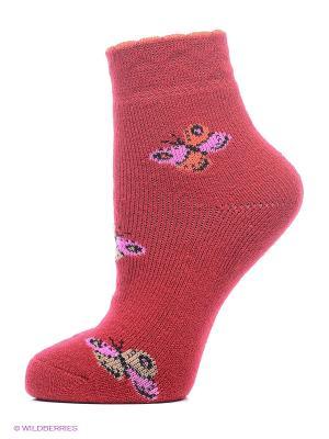 Носки 2 пары Master Socks. Цвет: красный, бирюзовый